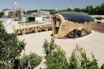 Habitation 100% écologique, ingénieuse et abordable. Vue extérieure d'ensemble