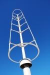 Une éolienne à axe verticale